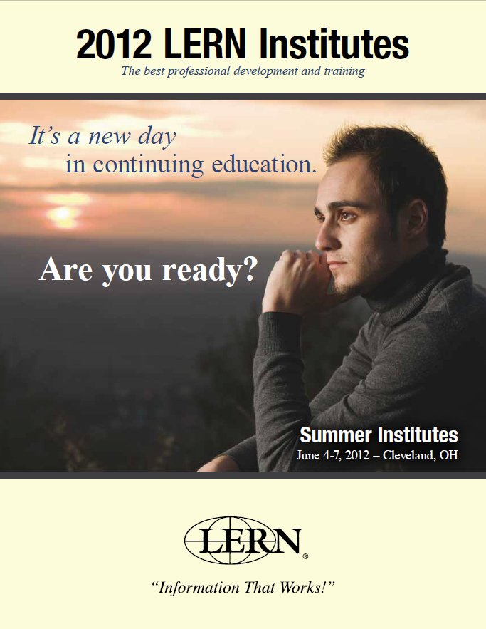 continuing education brochure