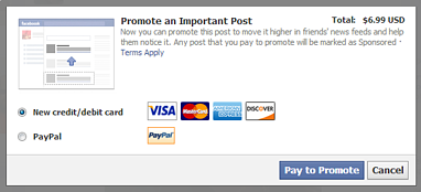 Using promoted posts on Facebook helps your program reach more people.