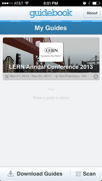 The LERN Annual Conference App