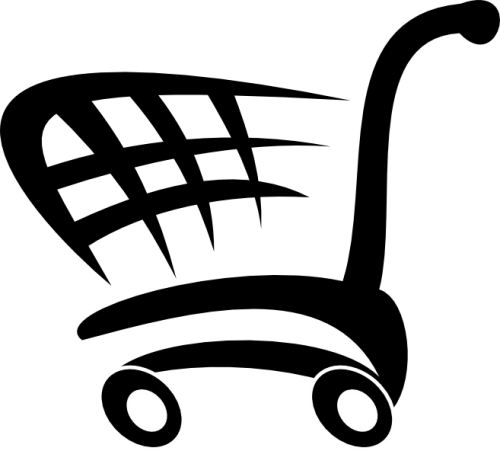 online registration, shopping cart