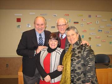 Greg, Paula Hogard (LERN Board Member), Jim Kormer
