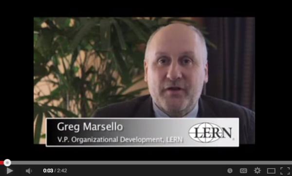 Greg Marsello, LERN Vice President for Organizational Development